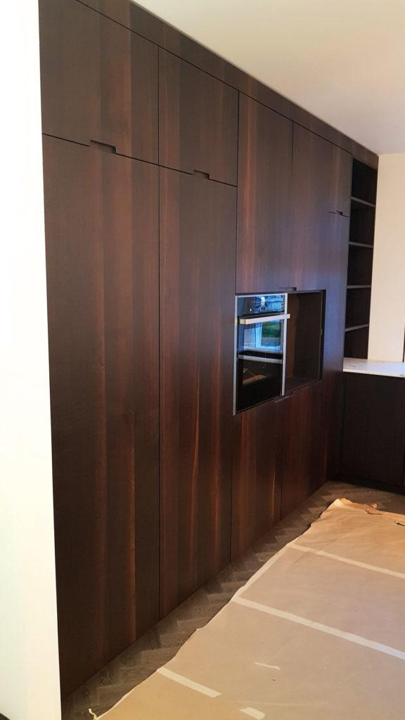 svart kjøkken fra Egersund Møbelsnekkeri
