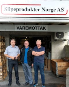 F.v: Osmund Gilje, Asbjørn Fuglestad og Leif Terje Munkejord